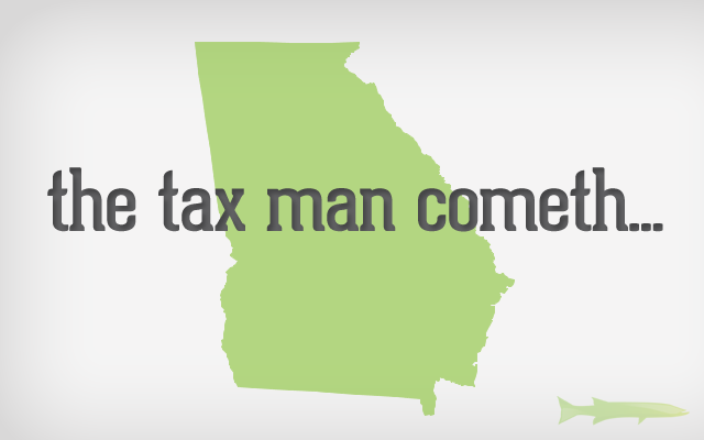GA Online Sales Tax Georgia E Commerce Taxes by County (Zip Code Breakdown)